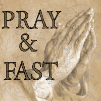 pray and fast