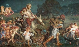 """""""Triumph of the Innocents"""" by Holman Hunt"""